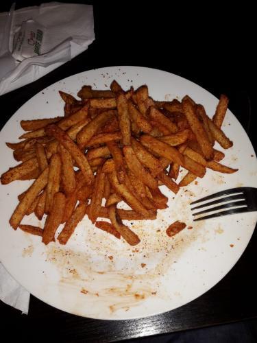 Pommes aus Süßkartoffeln
