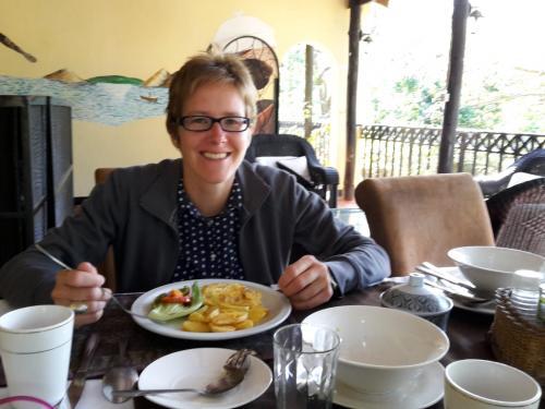 27.04: Frühstück in Blantyre auf einer Fahrt mit Übernachtung.