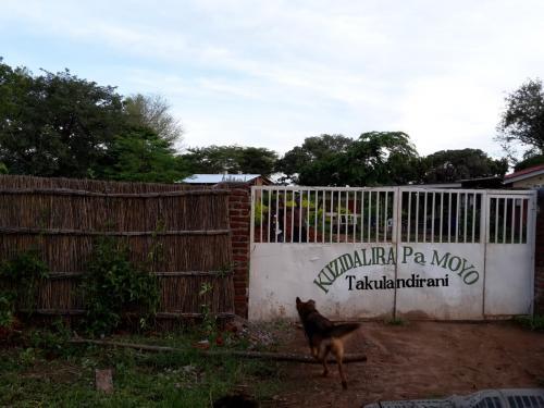 Ankunft am Tor zur Farm